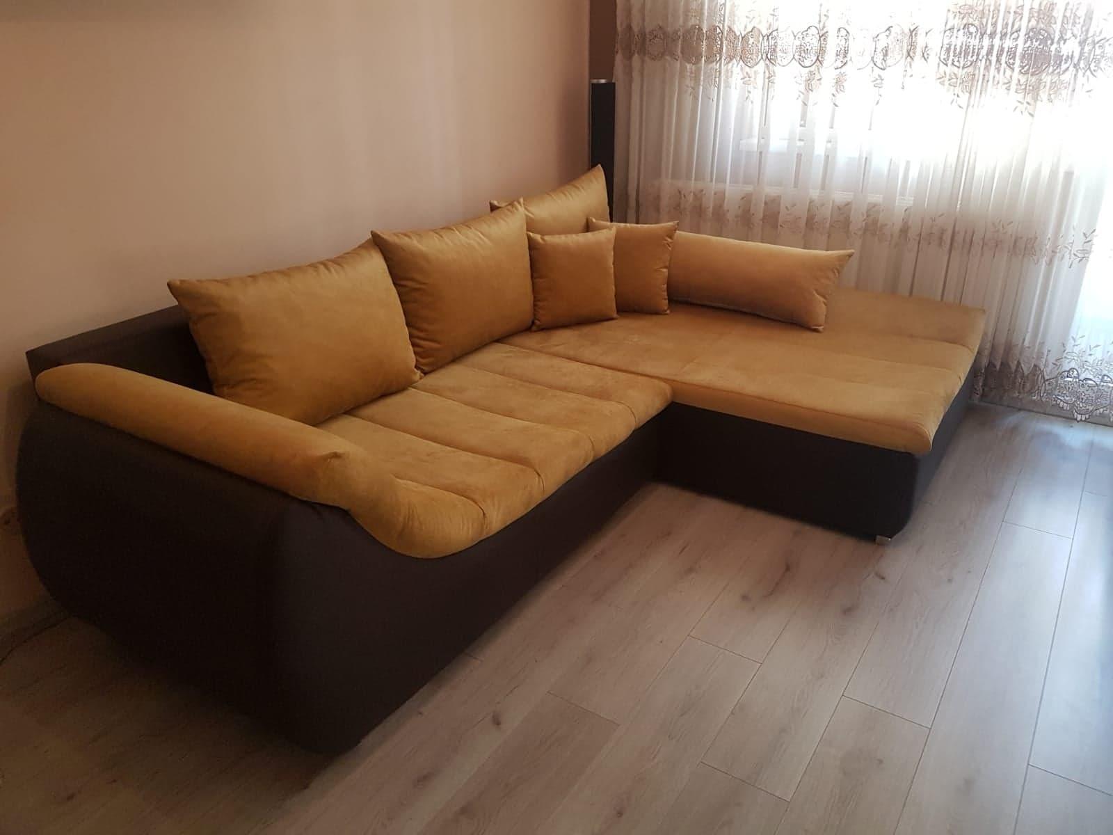 reparare canapea cu sezlong